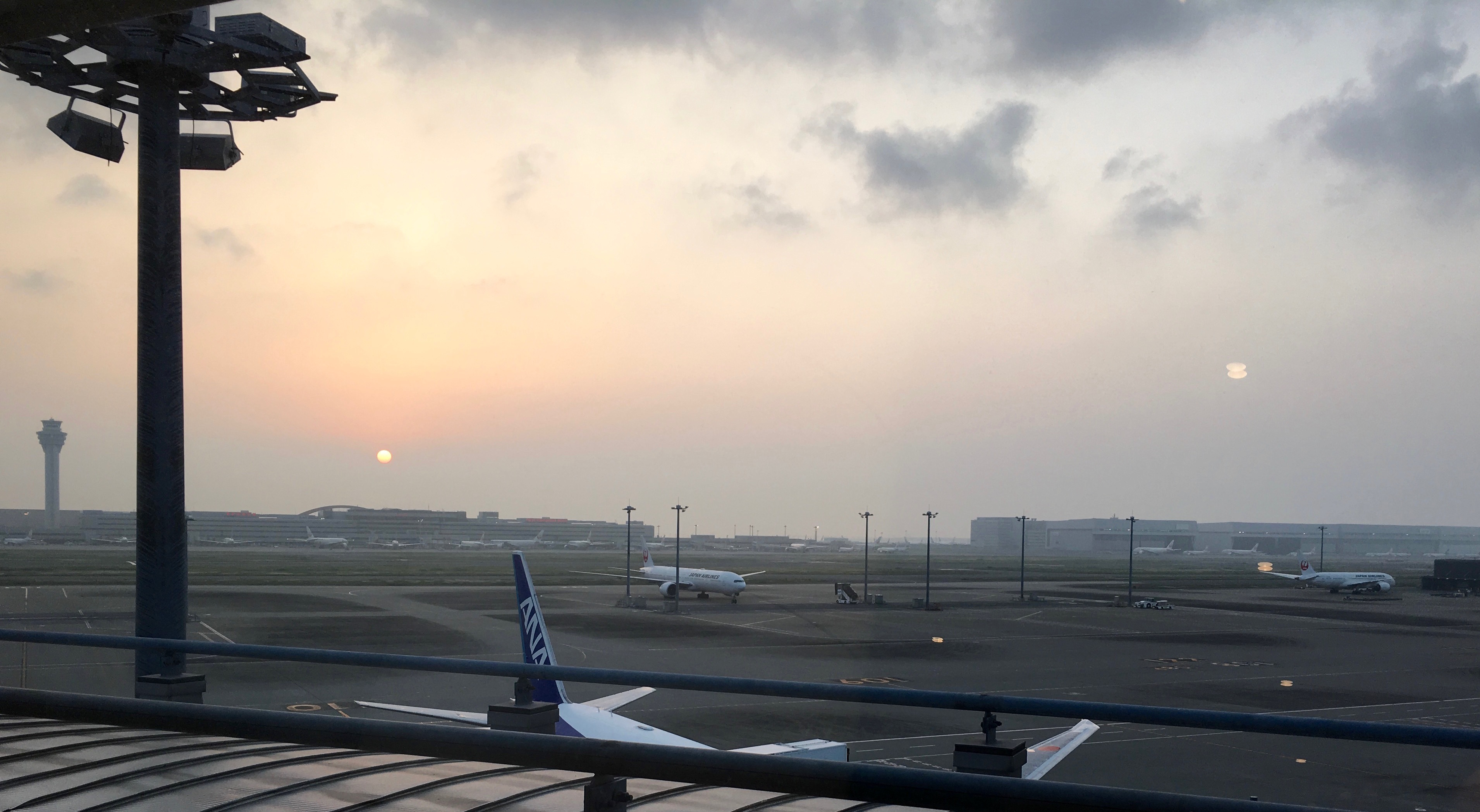 Haneda at sunrise